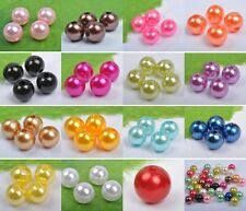 4MM 6MM 8MM 10MM Imitation Pearls round loose Beads Spacer 20Colors DIY FINDINGS