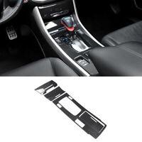 4pcs Carbon Fiber Gear Shift Box Cover Trim Fit for Honda Accord 14-17 Universal
