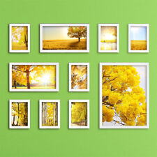20 pcs Picture Photo Frame Set Wall Home Decor Art Colour Gift
