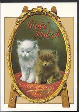 Advertising Postcard - The Globe Metal Polish Series - Robert Opie    A7860