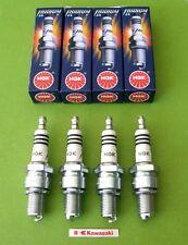 4 spark plugs NGK iridium BR8EIX z1 kz1000 kz750 kz900 kz1100 zx1100 gpz kz 1000