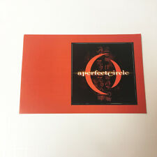 A Perfect Circle sticker postcard - Official band promo merch vinyl decal
