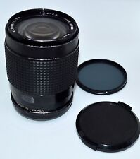 ALBINAR - ADG 28-80MM ZOOM LENS 1:3.9 / 4.9 WITH FILTER & LENS CAP MADE IN JAPAN