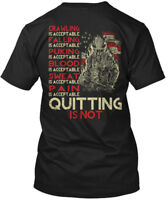 Firefighters-quitting - Firefighter Crawiling Os Hanes Tagless Tee T-Shirt