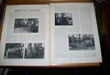 Wolseley motores fábrica artículo de la revista febrero 1937 ingeniero del automóvil