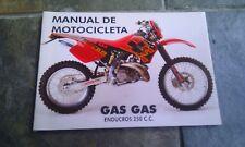 Genuine new original old stock GasGas EC 250 handbook