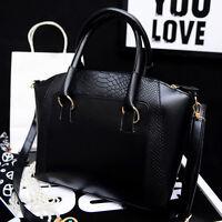 Handbag Shoulder Bag Tote Purse Fashion PU Leather Women Ladies Messenger Hobo