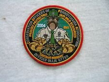 """Pa Fish Game Commission New Conservation Officers Copa 2004 Ollie Otter 4"""" Patch"""
