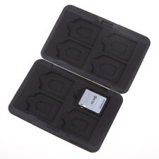 24 ranuras de tarjetas de memoria SD Soporte para caja de almacenamiento de información de juegos caja de transporte de plástico duro