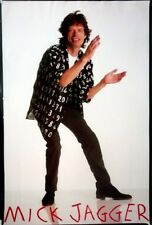 ROLLING STONES - Rares Hochglanz Poster - Mick Jagger