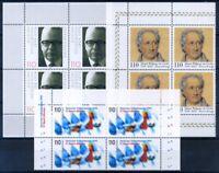 Deutschland Bund 1999 Mi. 2067- Postfrisch 100% Kultur, sport, vierer block
