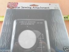 UNIVERSAL CIRCULAR SEWING ATTACHMENT SET creates perfect circles with ease