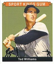 TED WILLIAMS 2001 SPORT KINGS CARD SINGLE CARD