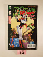 Harley Quinn Holiday Special #1 Christmas Cover NM 1st Print DC New 52