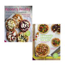 Honestly Healthy Cookbook 2 Books Collection Set Alternatives for EverydayEating