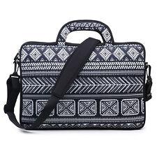 "Neoprene Laptop Computer Briefcase Bag W. Shoulder Strap & Handle 15.6""  3106"