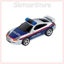 """Carrera GO 61027 Porsche GT3 """"Polizei Österreich"""" (mit Licht) 1:43 Slotcar Auto"""