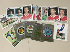 PANINI 1986 MEXICO WORLD CUP UNUSED STICKERS !