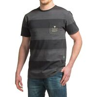 Vissla 'Back Wash' T-Shirt Black / Charcoal  BNWT