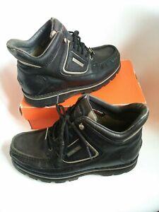 Rockport mens shoes  Size 8 xcs black leather comfort concept hydroshild