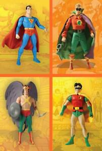 First Appearance Series 2 4 Action Figure Set DC Hawkman Superman Amricons