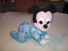 Disney Mickey Mouse Krabbeler - Maus Krabbler Krabbelbaby Micki - Disney 1999