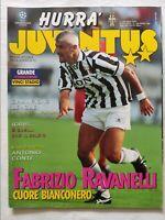 HURRA' JUVENTUS N. 3 MARZO 1996 + POSTER RAVANELLI ANTONIO CONTE DESCHAMPS