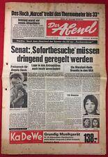 DER ABEND (5.6.1972): 120 Hinweise [Baader-Meinhof-Bande / Angela Luther]