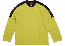 Supreme Paneled L/S Top Long Sleeved Acid Green Size X-LargeXL FW18 + Receipt