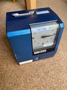 ITR - International Time Recordings (IBM) Clock In Machine - Man Cave - Works