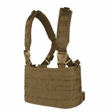 CONDOR MOLLE Modular Tactical Nylon OPS Chest Rig Vest mcr4-498 COYOTE BROWN