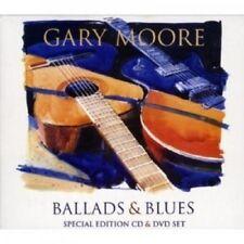 GARY MOORE - BALLADS AND BLUES  CD + DVD 24 TRACKS CLASSIC ROCK/POP/BLUES NEUF