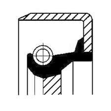CORTECO Wellendichtring Kurbelwelle Simmerring stirnseitig 12011455B