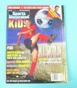 Sports Illustrated for Kids - Mia Hamm COVER- June 1999 - UNCUT SHEET- Excellent