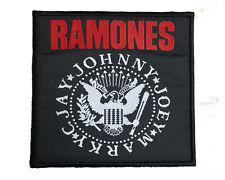 RAMONES Embroidered Rock Band Sew On Patch UK SELLER Patches