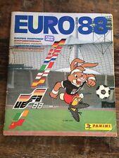 BEAUTIFUL panini euro 88 Complete album eufa