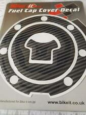 Fuel Petrol Cap Decal Carbon Effect Adhesive Cover Honda Motorcycle 7 Hole