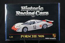 YS022 HELLER 1/24 rare maquette voiture 80750 Porsche 908 N°12 Monza 1969 1986