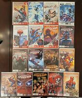 Amazing Spider-Man (2014) #1-18 (EXCEPT #4) Spider-Verse 17 LOT. Miles Gwen Silk
