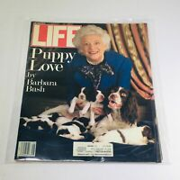 VTG Life Magazine: May 1989 - Puppy Love by Barbara Bush on Cover/Ralph Lauren