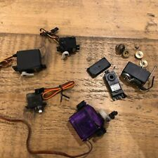LOT OF 5 x Servo Servos Hitec Spektrum Blue Bird FAULTY SPARES REPAIR