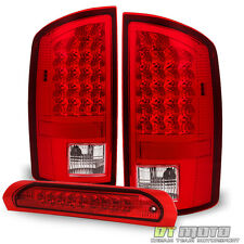 2007-2008 Dodge Ram 1500/2007-2009 Ram 2500 3500 LED Tail Lights +LED Brake Lamp
