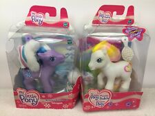 My Little Pony MLP G3 Toboggan and Golden Delicious Never Played with lot Of 2