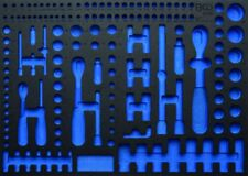 BGS 4036-1 Leer Weichschaumeinlage  leer für: BGS Steckschlüsselsatz, 192-tlg.,