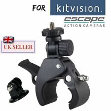 For Kitvision Escape 4KW HD5W HD5 Action Cam Bike Handle bar Mount Bicycle Clamp