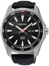 Seiko Gents Solar Powered Date Watch   SNE393P2 SQNP
