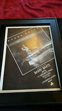 Barry White Let The Music Play AMA Rare Original Promo Poster Ad Framed!