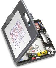 Plastic Storage Clipboard Box Office File Folder Ducuments Holder Portable Case