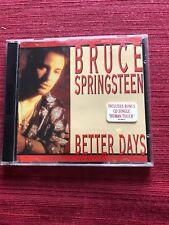 Bruce Springsteen Australian CD W/ 2 Singles - Better Days + 2 & Human Touch + 2