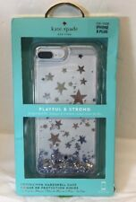 KATE SPADE Playful & Strong Hardshell STAR + CLEAR - iPhone 8 Plus &  7 Plus (k)